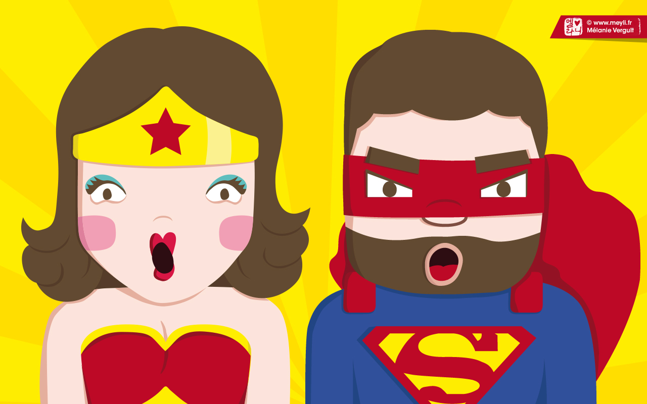 1280x800 - Illustration Super Hero