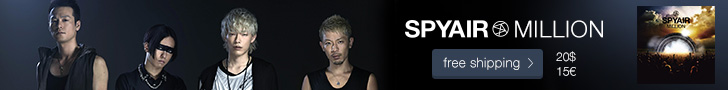 SPYAIR - New album 'MILLION'