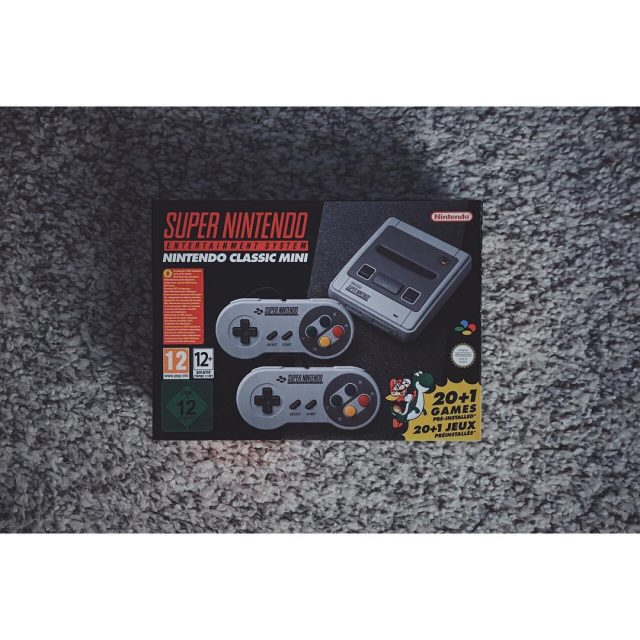 Super Nintendo Mini  snes nintendo supernintendo game jeuxvideo geekhellip