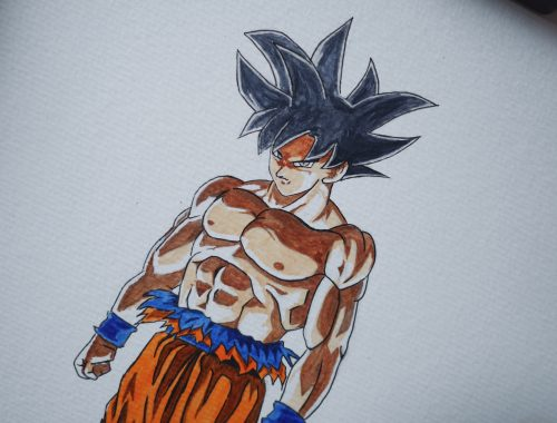 Dragon Ball Super - Goku Ultra Instinct by meyli.fr